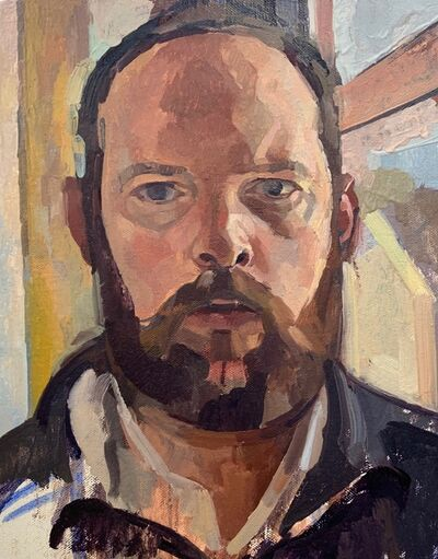 Jeremy Long, 'Self-Portrait', 2020