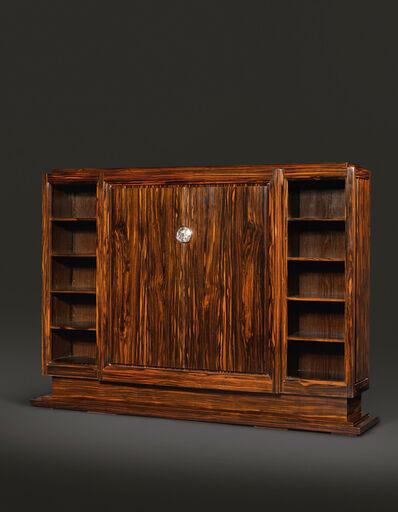 "Émile-Jacques Ruhlmann, '""Wiener"" Bookcase Cabinet, model 2039 AR and 2434 NR, variant', circa 1930"
