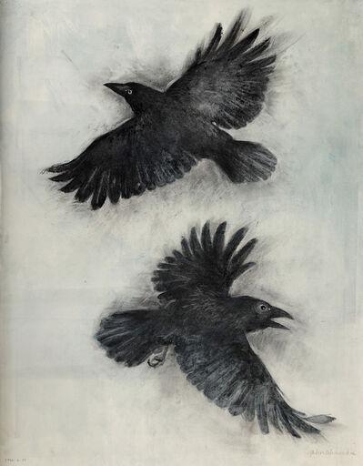 John Alexander, 'Black Crows', 2017