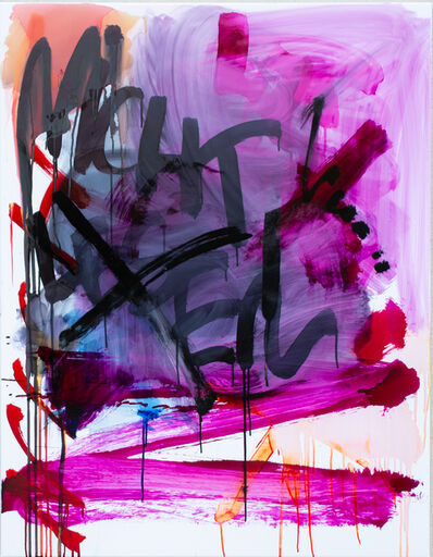 Thierry Furger, 'SCHRIFTENMALER 01', 2020
