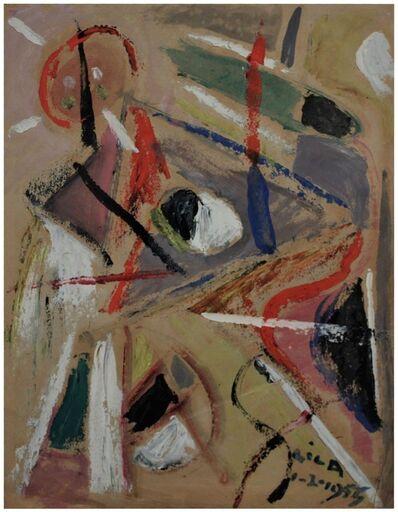 Esteban Lisa, ' Juego de líneas y colores', 1955