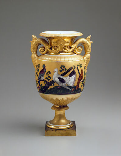 Imperial Porcelain Factory, 'Vase with Pigeons ', ca. 1830