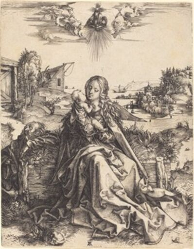 Albrecht Dürer, 'The Holy Family with the Mayfly', 1495/1496