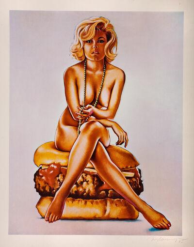 Mel Ramos, 'Virnaburger', 1965