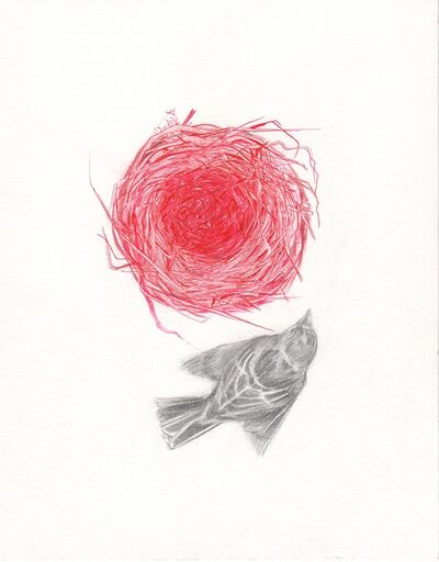 Maria DiMauro, 'Red Sparrow Nest', 2017