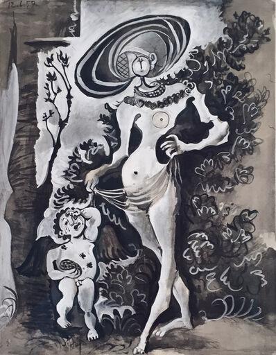 Pablo Picasso, 'Venus et l'Amour Voleur de Miel', 1957