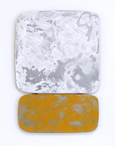 Nick Moss, 'Some kinda white over some kinda yellow', 2019