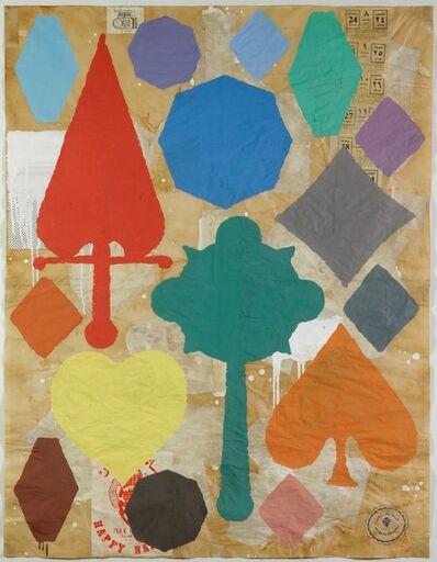 Donald Baechler, 'Large Suite #7', 1992