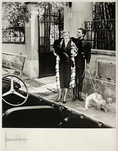 Norman Parkinson, 'Clothes by Lancetti, Italy with Robert Pascall', 1978