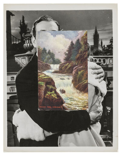 John Stezaker, 'Embrace (Film Still Collage) IV', 2017