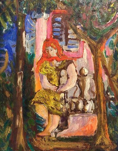 Mariano Rodriguez, 'En el Parque', 1942