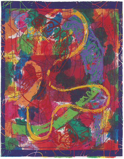 Frank Stella, 'Estoril Five II ', 1982