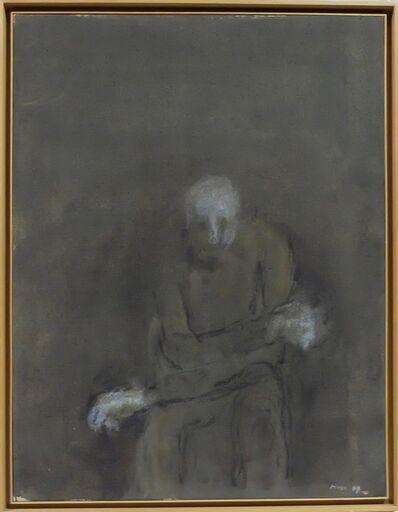 Zoran Antonio Mušič, 'Homme brisé', 1997