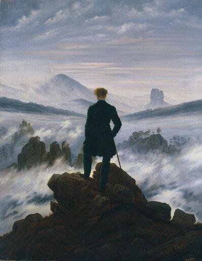 Caspar David Friedrich, 'Wanderer above the Sea of Fog', ca. 1817