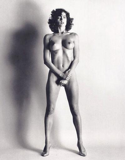 Helmut Newton, 'Big Nude III: Henrietta, signed', 1980