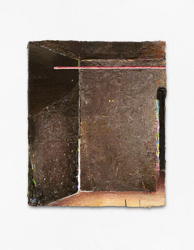 Matthias Weischer, 'Pole', 2020