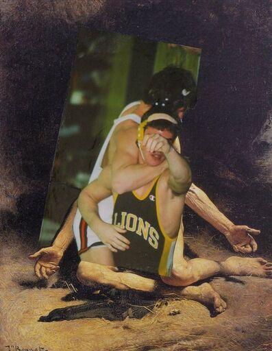John O'Reilly, 'Wrestlers 9-1-08', 2008