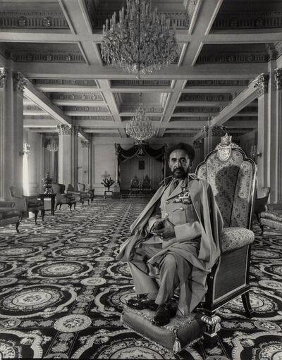 Arnold Newman, 'Haile Selassie I, Emperor of Ethiopia, Addis Ababa', 1958
