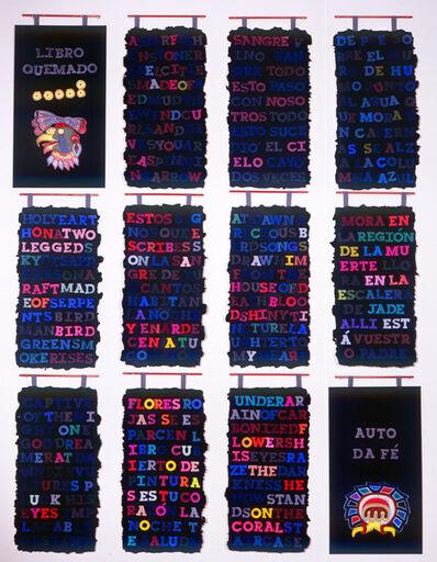 Leandro Katz, 'Libro Quemado / Burnt Book', 1992