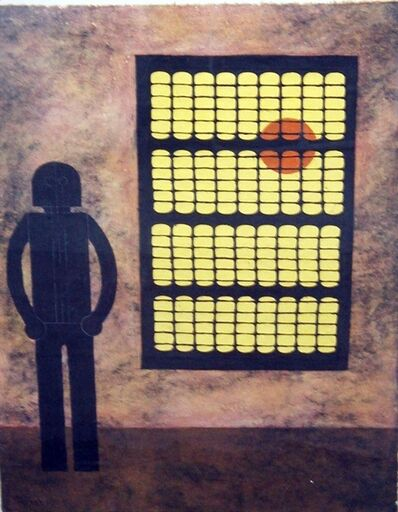 Rufino Tamayo, 'Hombre en la Ventana ( Man at the Window)', 1980