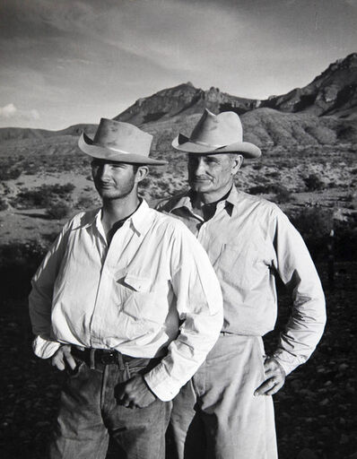 Alfred Eisenstaedt, 'Father and Son in the Big Bend Area of Texas', 1943