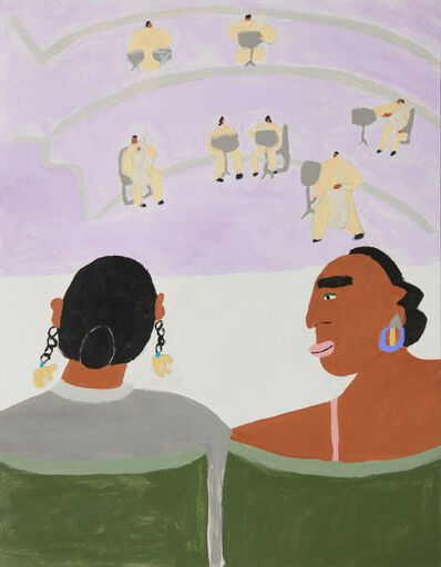 Lilian Martinez, 'Two Women Waiting For The Symphony', 2018