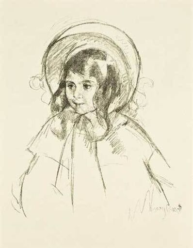Mary Cassatt (After), 'Sara Wearing her Bonnet & Coat', 1898