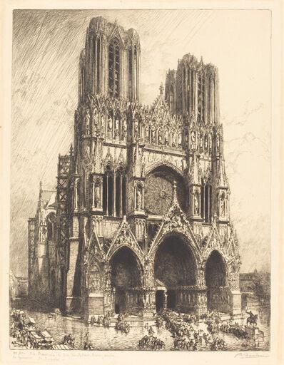 Auguste Lepère, 'Reims Cathedral (Cathedrale de Reims)', 1911
