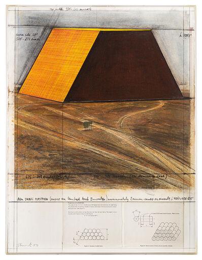 Christo, 'Abu Dhabi Mastaba (project for United Arab Emirates)', 1979