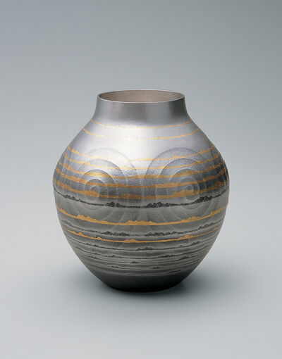 Osumi Yukie, 'Silver Vase: Distant Sea', 2005