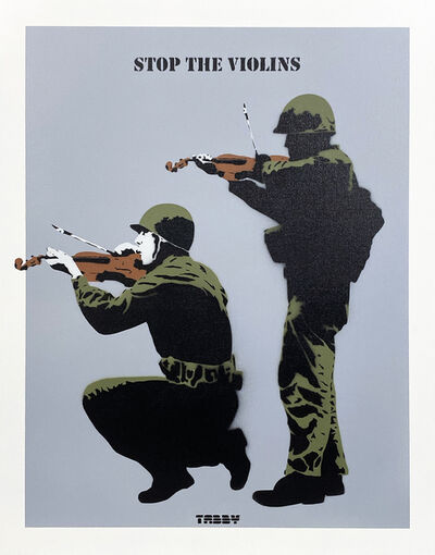 TABBY, ''Stop the Violins' (grey) HPM', 2020
