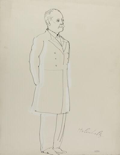 Raoul Dufy, 'Hermann von Hermholtz', 1937
