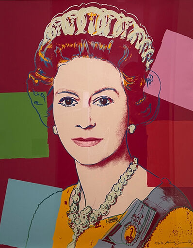 Andy Warhol, 'Queen Elizabeth II of The United Kindom - Reigning  Queens (Royal Edition), F. & S. II. 334 A', 1985