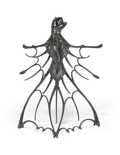 René Lalique, 'A Rare and Important 'Femme Ailée' Sculpture', circa 1900