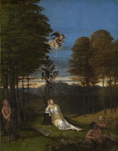 Lorenzo Lotto, 'Allegory of Chastity', ca. 1505