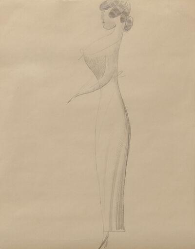 Elie Nadelman, 'Woman in Profile', 1921