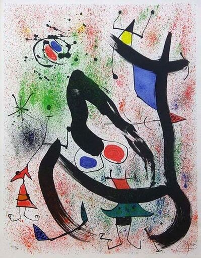 Joan Miró, 'The Seers IV (Les Voyants)', 1970