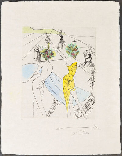 Salvador Dalí, 'Flower Women at the Piano', 1969-70