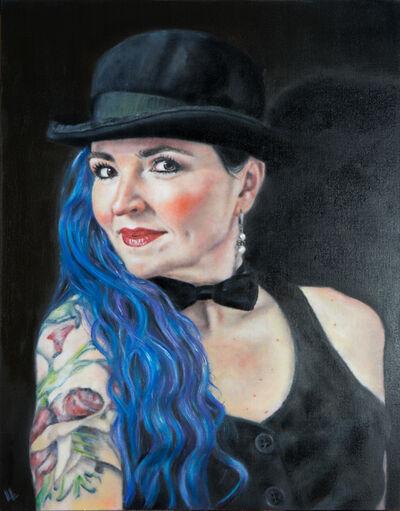 Lorena Lepori, 'Portrait of Eva Evangelista', 2021