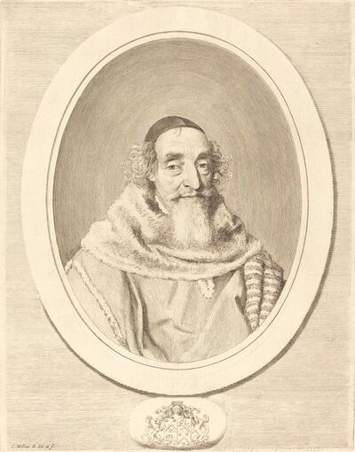 Claude Mellan, 'Mathieu Mole', in or after 1656