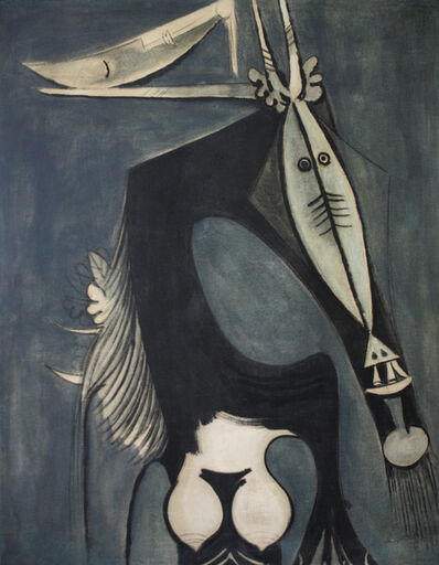 Wifredo Lam, 'Figure [Femme Cheval]', 1949
