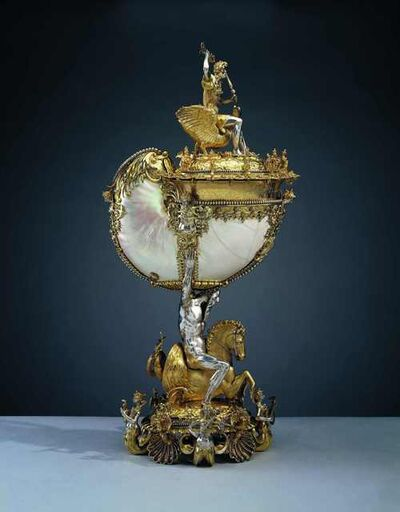 Nikolaus Schmidt, 'Nautilus cup', ca. 1600