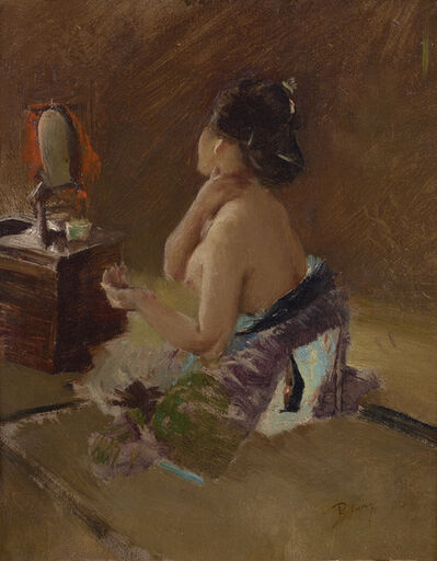 Robert Frederick Blum, 'Japanese Lady at her Toilet ', ca. 1890-1993