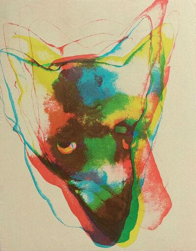 Duane Slick, 'Technicolor Coyote #3', 2016