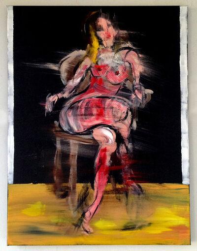 Bill Dunlap, 'Seated Nude', 2015