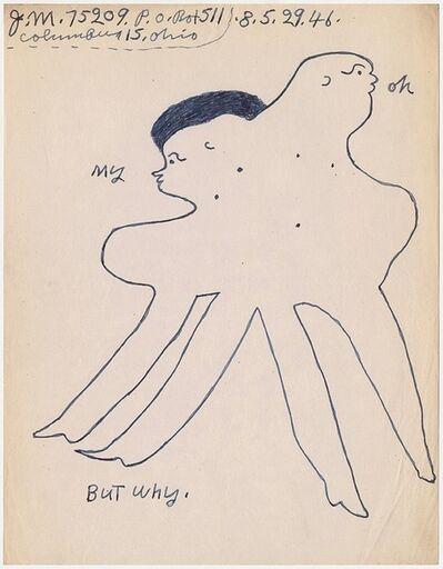 """Joe Massey, '""""But why""""', 1946"""