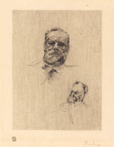 Auguste Rodin, 'Victor Hugo, De Face', 1886