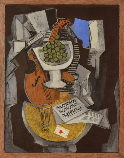 Ismael González de la Serna, 'Composition au Guéridon', 1931