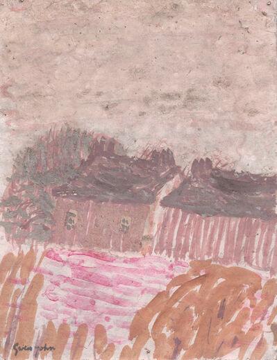 Gwen John, 'Two Houses in a Landscape', ca. 1920