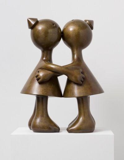 Tom Otterness, 'Kissing Cones ( medium ) ', 2014